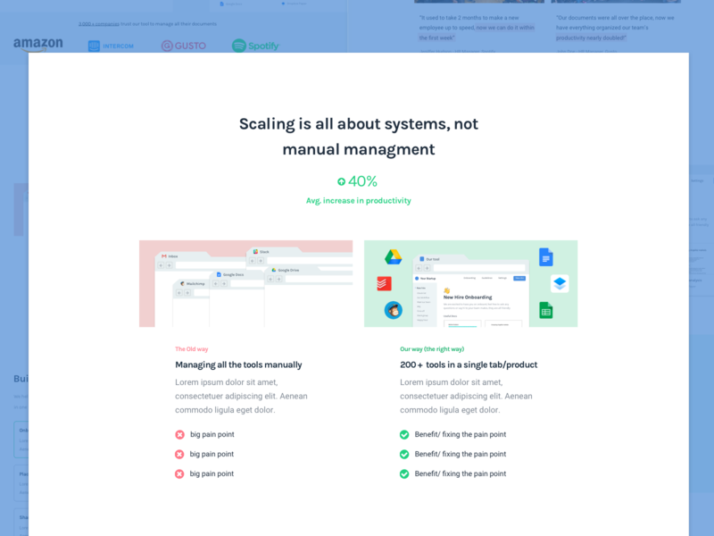 Introducing the Problem - Breaking down a SaaS Landing Page