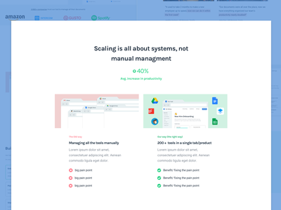 Introducing the Problem - Breaking down a SaaS Landing Page saas landing page saas web startup landing pages redesign