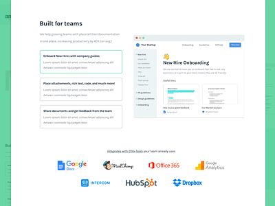 How It Works - SaaS Landing page breakdown [+article] case study saas landing page saas startup optimization redesign