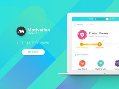 Motivation Engine motivation engine dynamics software gamification hero crm