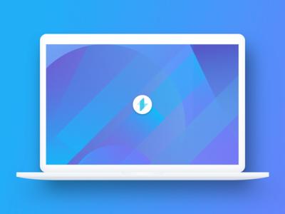Lumos login & users blue cartography design interface lumos map simple ui ux web website