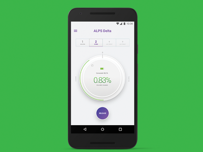 Prosthetic control dial accessibility disabled android uiux mobile healthcare prosthetic