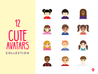 12 Cute Avatars