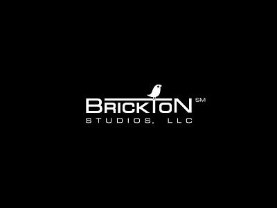 Brickton Studios, LLC songbird typography logomark brand vector minimal clean branding logo