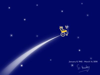 To the Stars .... stars illustration hawking stephen