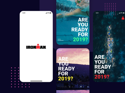 Ironman Concept Design design experience concept sport app mobile ux interaction health ios app interface ui