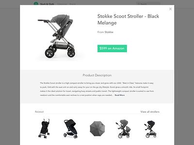 Shop Modal design ui amazon shop modal