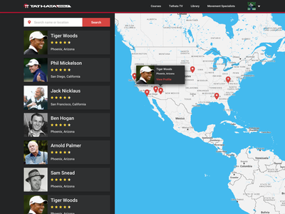 Golf Golf Golf tv television crazy bout golfin ui ux app web app golfing eduction golf training golf