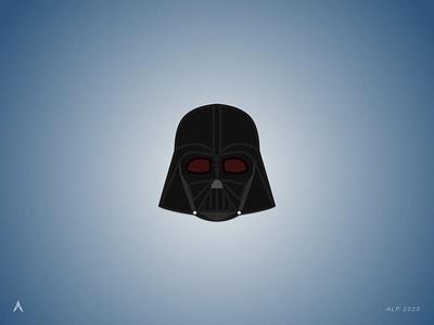 #1.2 Character Heads | Star Wars: Darth Vader sith jedi kylo ren force star space starwars darth vader illustration icon vector logo minimal