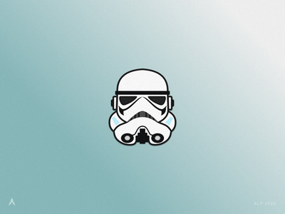 #1.3 Character Heads | Star Wars: Stormtrooper #1 star wars day illustrator sketch sith jedi force space stormtrooper star wars design icon illustration logo
