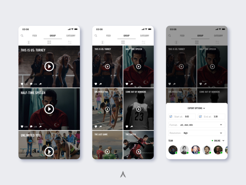 #1.3 Nike | NIKEWAY: Social Networking in Workplace jordan under armour puma adidas sports social network retail nike mobile ui mobile app mobile application sketch responsive ux ui branding clean design minimal