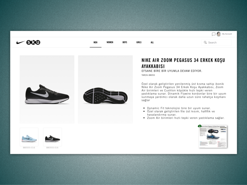 Online Learning Platform - Retail: Product Page