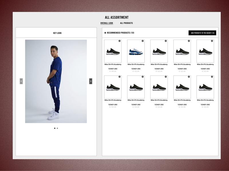 B2B E-commerce Platform - Assortment page