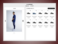 B2B E-commerce Platform - Assortment page