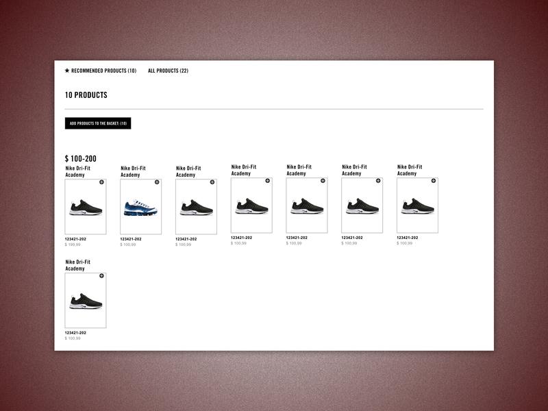 B2B E-commerce Platform - Assortment Details Page