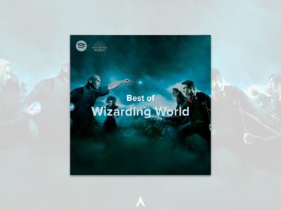 #9 - Album Cover: Best of Wizarding World Spotify Playlist