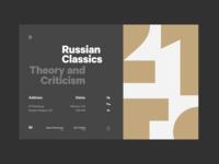 Homepage: Header concept typedesign typography branding landing page main page design concept web fireart fireart studio ux ui
