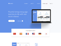 Fluent homepage