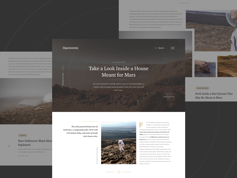 Article page fireart fireart studio ui ux blog news article page