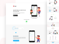Toggl landing page