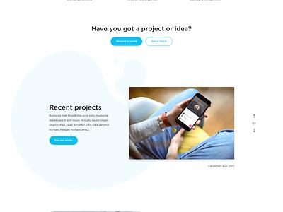 Creatio website fireart fireart studio ui ux illustration web development