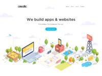Creatio main page