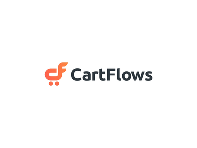 CartFlows gradient ecommerce shopping cartflows 2d animation motion intro logo reveal logo animation
