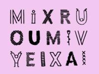 Textured Type