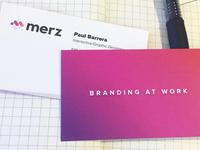 Merz Branding