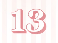 13 Invitation
