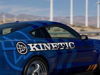 Kinetic Mustang Graphic