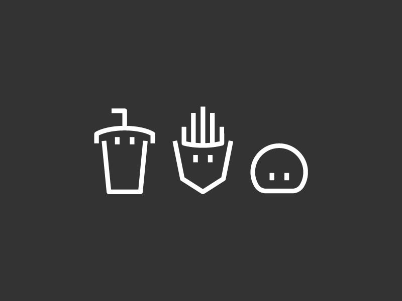 Aqua teen icons