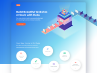 Another landing page for Duda