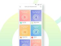 Promotions app