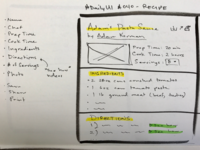 DailyUI #040 - Recipe