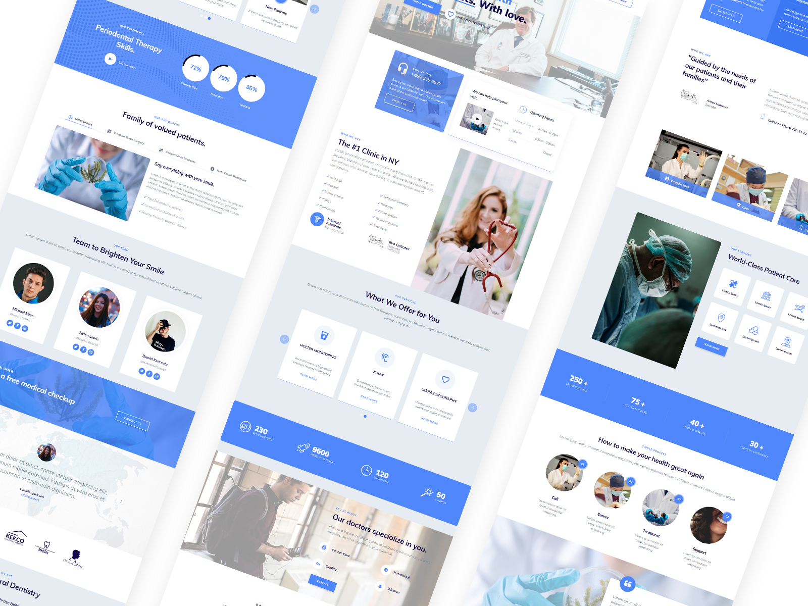 Mobirise Free Website Builder Software Medicalm4 By Mobirise Builder On Dribbble