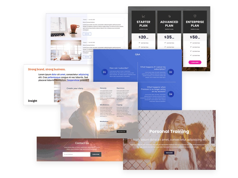 Mobirise Website Builder | Blockpack for AMP themes website maker html5 software webdevelopment website builder website design responsive webdesign bootstrap