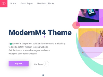 Mobirise HTML Page Builder | ModernM4 html5 software webdevelopment website builder website mobile design responsive webdesign bootstrap