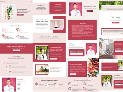 Mobirise HTML Site Builder | HealthAMP website maker software webdevelopment website builder design website mobile responsive webdesign bootstrap