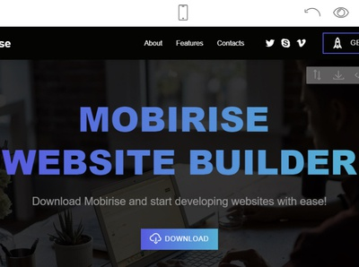 Mobirise Free Website Builder v4.12.4 is released! html5 software webdevelopment website builder website design mobile responsive webdesign bootstrap