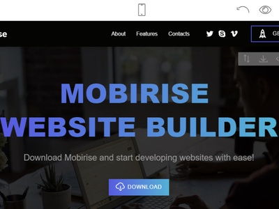 Mobirise Free Website Builder v4.12.4 is released! html5 software webdevelopment website builder website design mobile responsive webdesign bootstrap