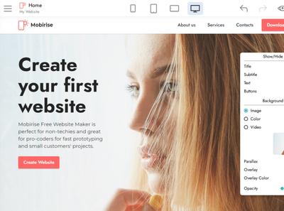 Mobirise Free Website Builder | Beta v5.0.25 html5 software webdevelopment website builder website design mobile responsive webdesign bootstrap