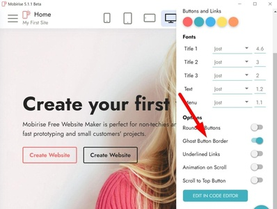 Mobirise HTML5 Page Builder v5.1.1 Beta is out! html5 software webdevelopment website builder website design mobile responsive webdesign bootstrap