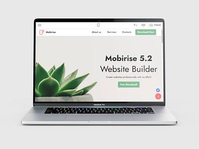 Mobirise Website Builder Software v5.2 is out! website maker software webdevelopment website builder website design mobile responsive webdesign bootstrap