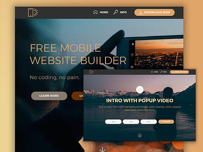 Mobirise Web Design Tool 4v template theme mobile layout website responsive web design design web mobirise