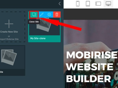 Mobirise Free Website Maker v4.3.4 - New Feature!