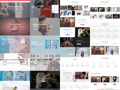 Mobirise Bootstrap eCommerce Template v4.4.1 - StoreM4 Blocks! theme template bootstrap online store shop digital website web development web design web design ux