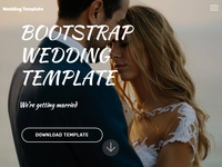 Mobirise Free Webpage Builder v4.5.4 - Wedding Template!