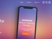 Mobirise Mobile Site Builder v4.6.7 - Help Center!