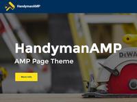 Mobirise AMP Website Maker v4.7.2 - HandymanAMP!